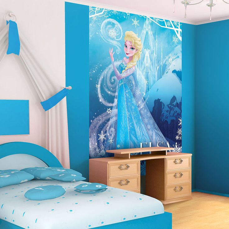 Disney Frozen Elsa Portrait Photo Wallpaper Wall Mural CN