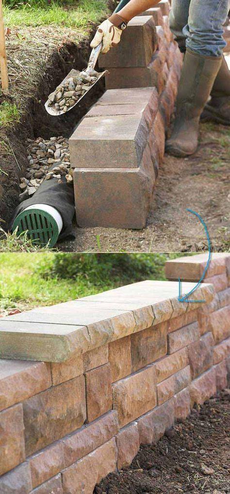 25 Best Ideas About Retaining Wall Gardens On Pinterest