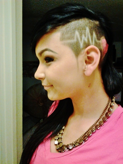 25 Best Ideas About Shaved Head Designs On Pinterest Hair
