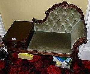 1000 Images About Telephone Gossip Bench Chair On