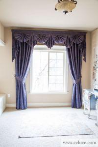 258 beste afbeeldingen van Window Treatments - Swag ...