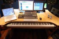 DAW desk | Project studio | Pinterest | Desks, Computers ...