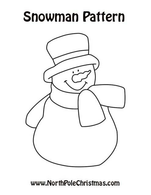 25+ Best Ideas about Snowman Patterns on Pinterest