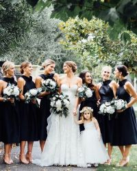 Best 25+ Black Bridesmaid Dresses ideas on Pinterest ...