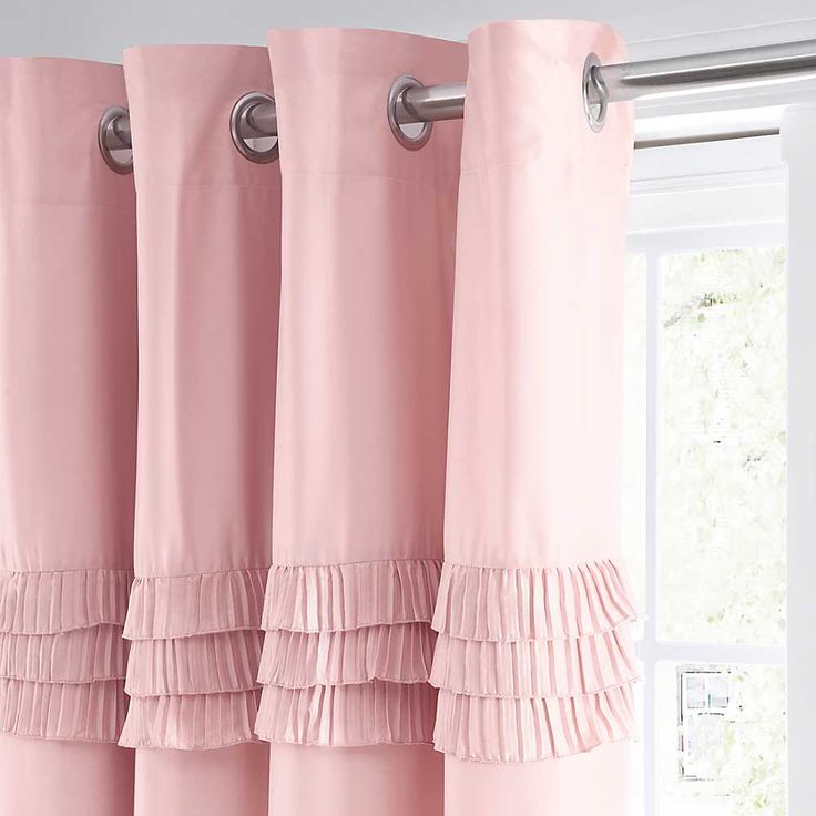 25 Best Ideas About Pink Bedroom Curtains On Pinterest Pink