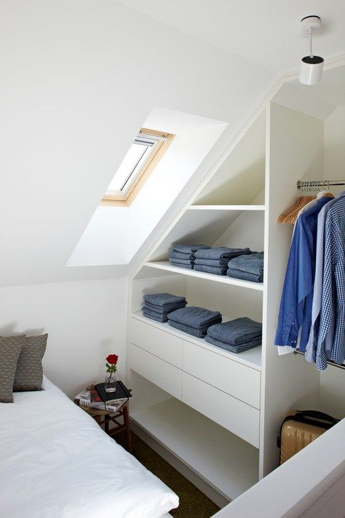 1000+ ideas about Slanted Ceiling Closet on Pinterest