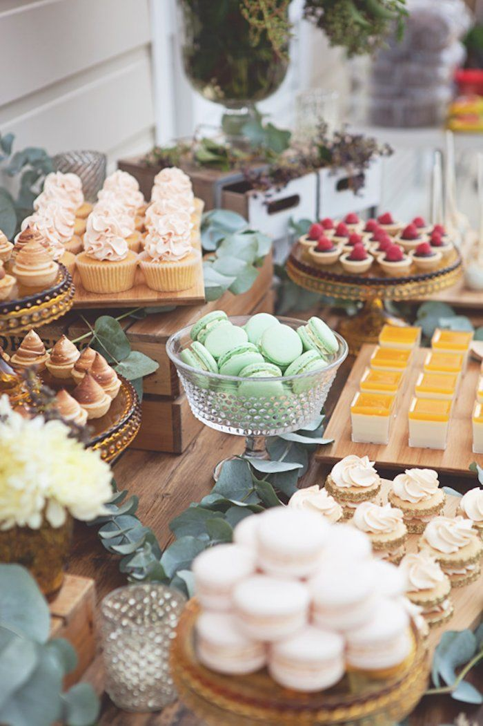25 best ideas about Dessert buffet on Pinterest  Wedding dessert buffet Mini dessert cups and