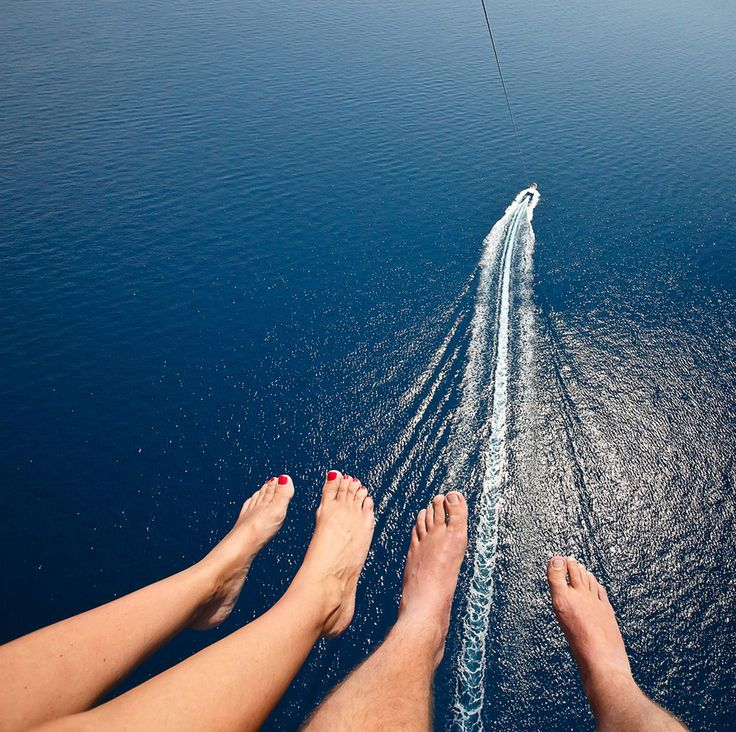 A different perspective ive never been parasailing