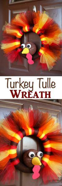 25+ Best Ideas about Tulle Wreath on Pinterest | Wreath ...