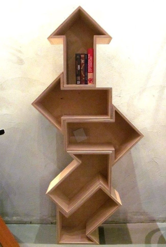25+ best ideas about Cool bookshelves on Pinterest