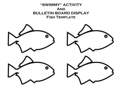 Swimmy Activity and Bulletin Board Display from Innovative