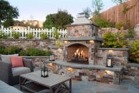 25+ best ideas about Outdoor fireplace patio on Pinterest