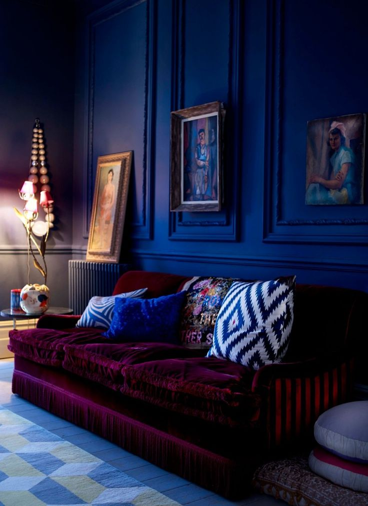 royal blue velvet sofa cheap 2 seater and chair 17+ best ideas about bedrooms on pinterest ...