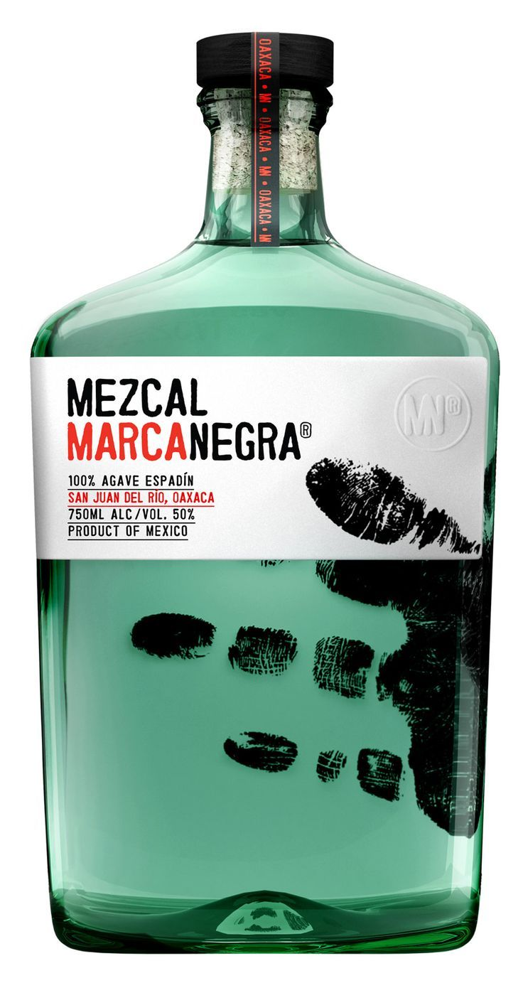 Mezcal Marcanegra  From up North  Packaging  Pinterest  Packaging Design Packaging and