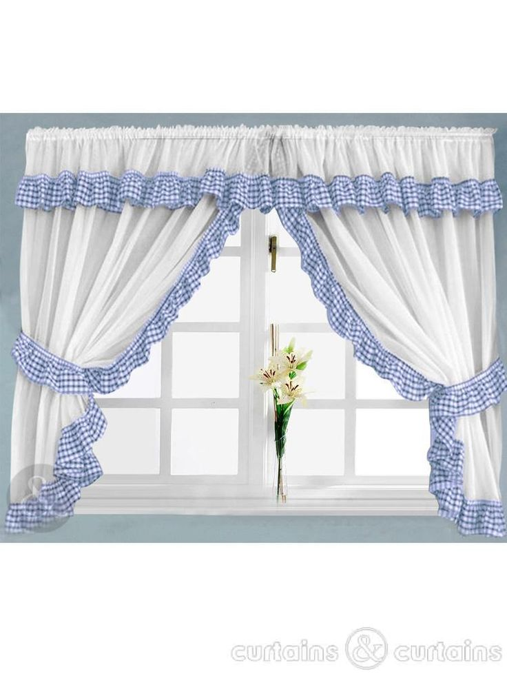 Best 25 Blue kitchen curtains ideas on Pinterest