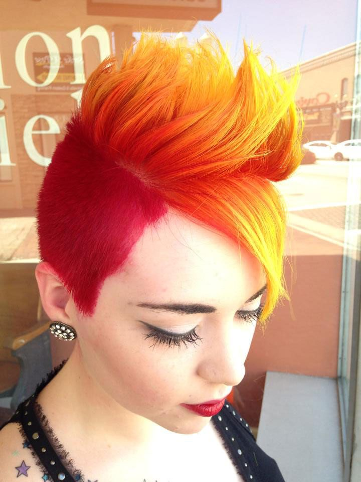 207 Best Images About Fire Ombre Phoenix Hair On Pinterest Hair
