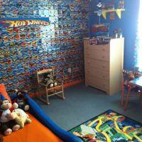 Hot Wheels Kids Room | Bedroom ideas for lil man ...