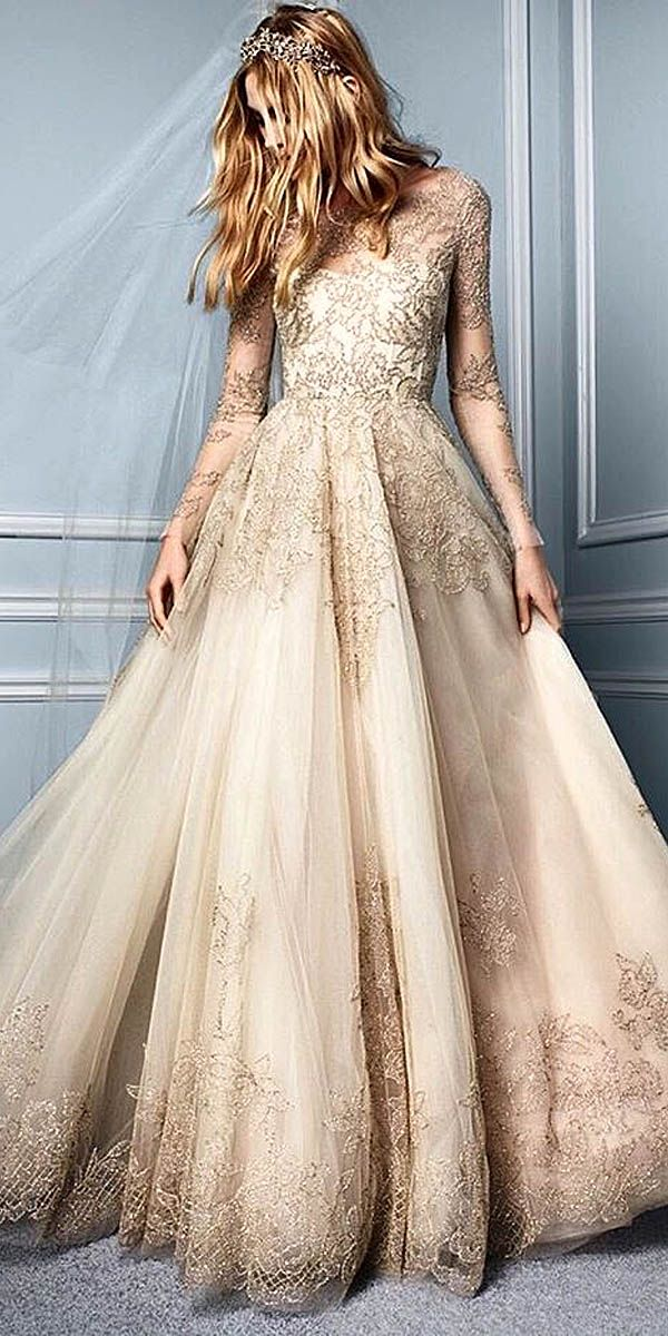 Best 25 Gold wedding dresses ideas on Pinterest