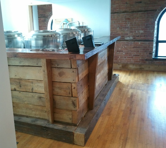 Reclaimed wood bar  Our commercial projects  Pinterest