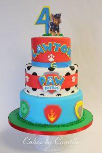 Paw Patrol Birthday Cake, Cakes by Camille Paw Patrol Cake ...