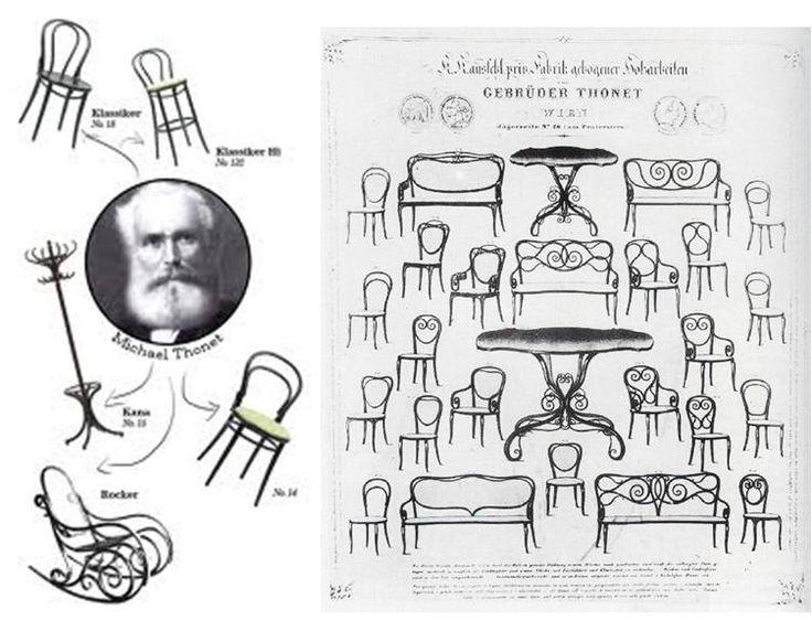 thonet chair styles gray slipper michael thonet,   100. diseño. orígenes. pinterest o'keefe