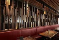 Restaurant Wood Wall Panel Design | /Patterns | Pinterest ...