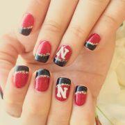 1000 ideas sports nail art