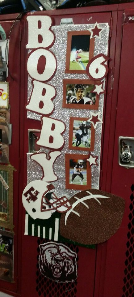 25+ best ideas about Locker room decorations on Pinterest