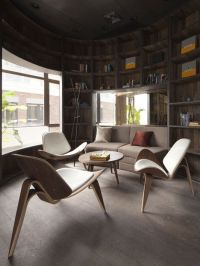 These chairs are just perfect for a living room! Theyre ...