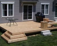 25+ Best Ideas about Backyard Deck Designs on Pinterest ...