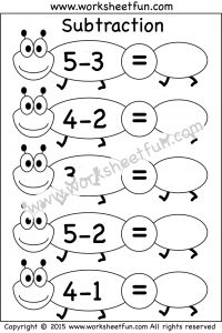 1000+ ideas about Subtraction Worksheets on Pinterest