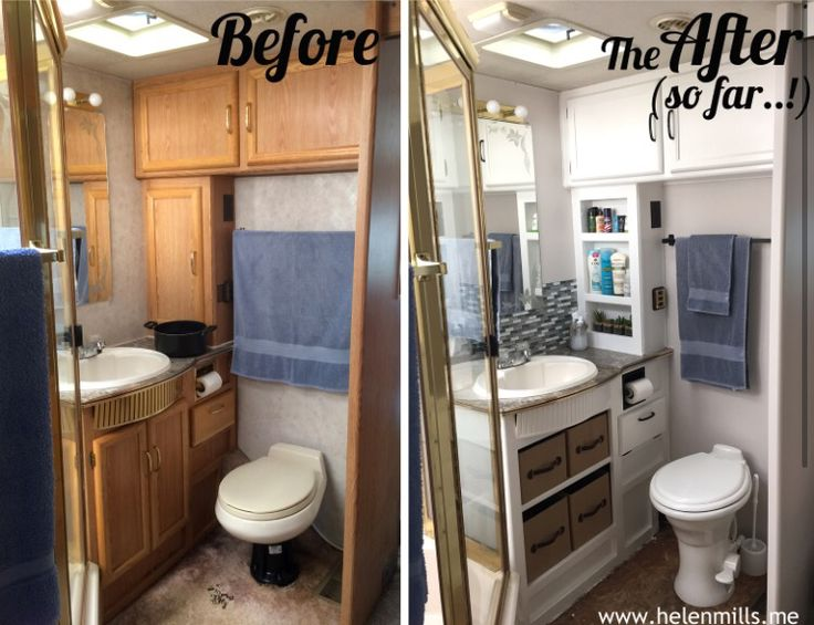 17 Best ideas about Rv Bathroom on Pinterest  Rv organization Camper and Camper curtains