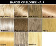 hair color reference chart