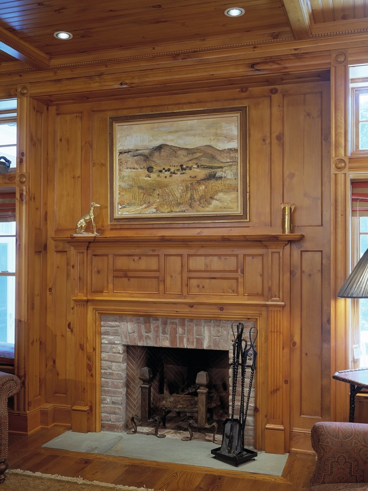 17 Best images about Rooms I Love on Pinterest  Fireplaces Style and Knotty pine paneling