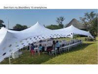 Waterproof Stretch tents for hire!