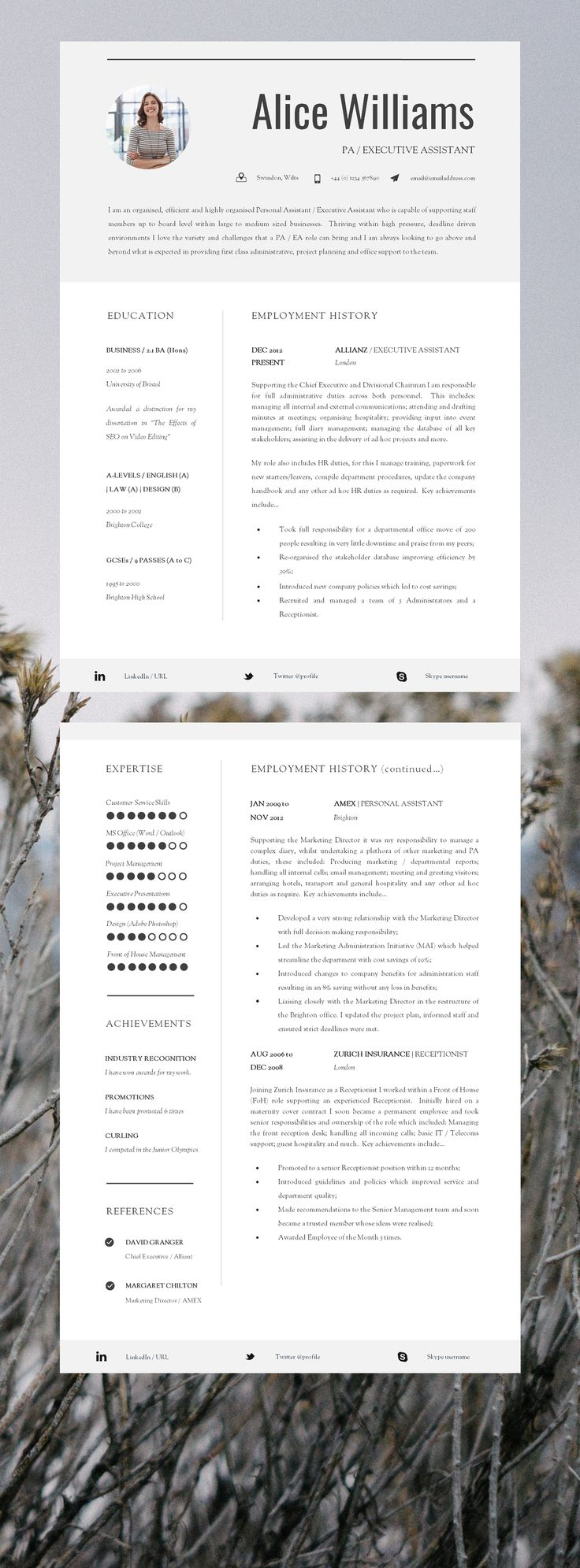 best and worst resume templates
