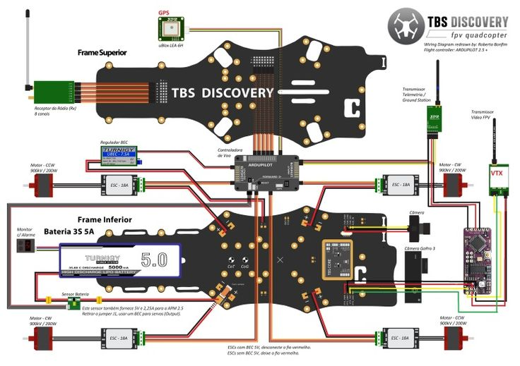 fpv quadcopter wiring diagram fujitsu ten 86120 wire | rc copters pinterest technology, aerial photography and electronics