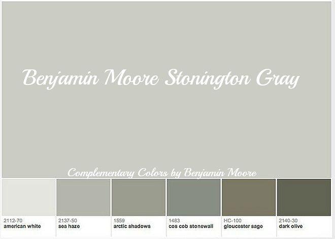 1000 ideas about Benjamin Moore Stonington Gray on
