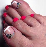 ideas painted toe