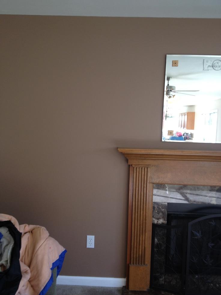 Behr Cozy Cottage and Blanket Brown wall paint  Paint Colors  Pinterest  Cottages Colors