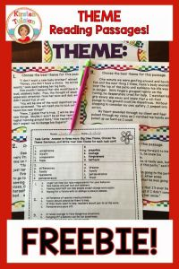 Finding The Theme Worksheets 3rd Grade - 5th grade common ...