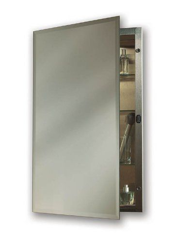 NuTone 1448 Galena Specialty Medicine Cabinet, Stainless
