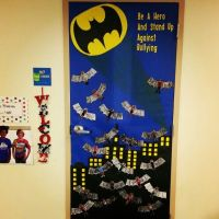 Batman classroom door | Classroom ideas | Pinterest | The ...