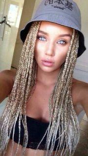 1000 ideas white girl braids