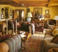 Scottish Country House Sitting Room... I Love All the ...