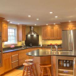 Kitchen Valance Ideas Outdoor Patio Transitional Kitchen- Stainless Steel Appliances, Double ...