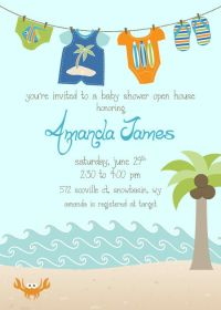 25+ best ideas about Beach baby showers on Pinterest