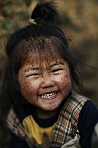 Gangtuk girl, Nepal