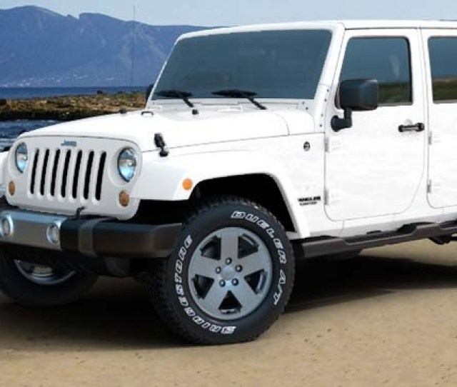 All White Jeep Wrangler Sahara  viralohnoco
