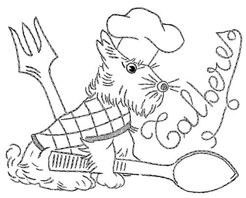 66 best images about Scotty dogs embroidery patterns on